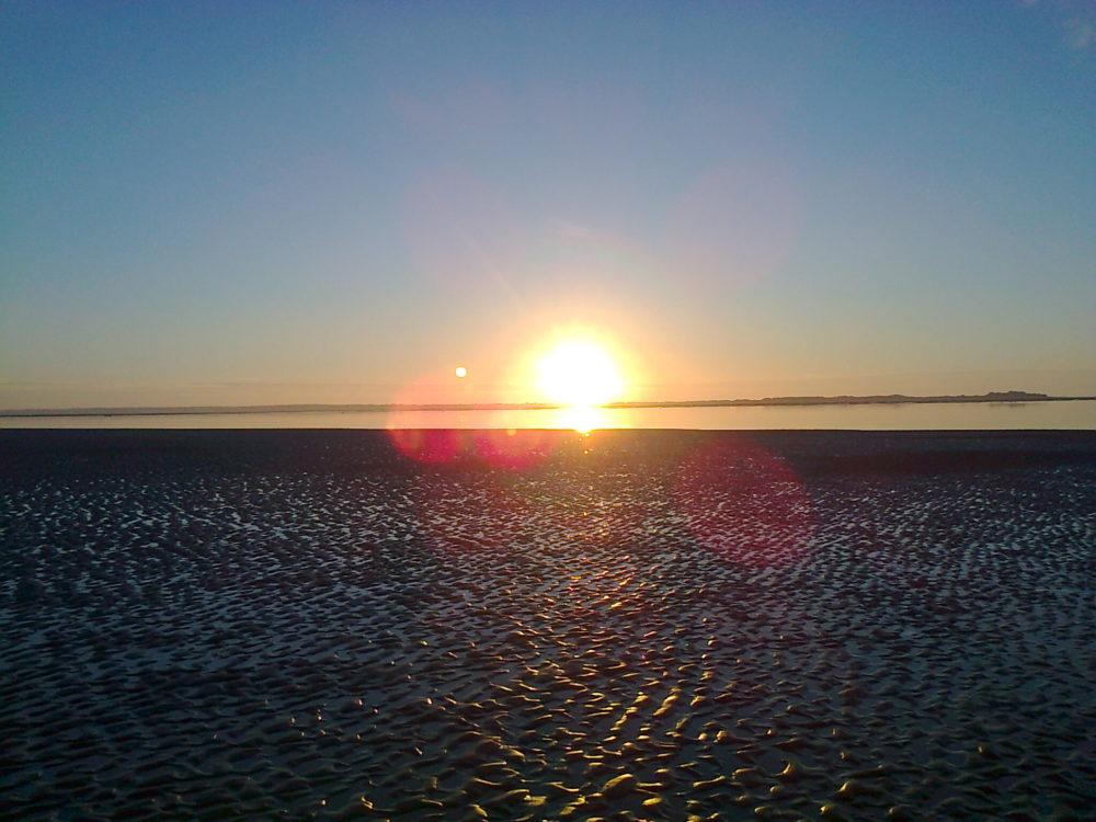 Sonnenuntergang Utersum